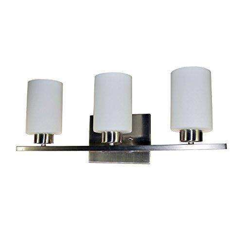 HomeSelects 7530 Dakota Three Light Vanity - Dakota Ceiling Light