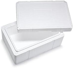 Premium Caja Styropor y poliestireno Caja/térmica – 25,0 L – Talla ...