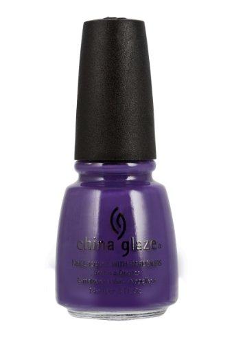 (China Glaze Nail Polish, Grape Pop, 0.5 Fluid Ounce)