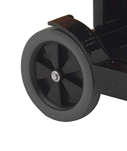 O-Cedar Commercial 96984-1LC Replacement Wheel for Maxirough Janitor Cart