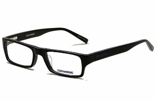 Converse Eyeglasses Q007 UF Black Full Rim Optical Frame 52MM