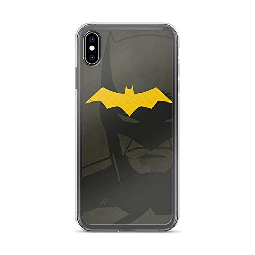 iPhone Xs Max Pure Anti-Shock Clear Case Bat-Man Origin -