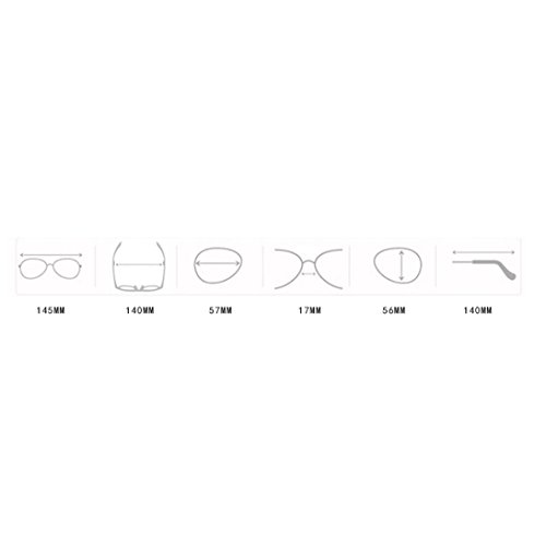Gafas sol E de Saihui para mujer nfxUwqSUC0