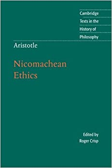 Book Aristotle: Nicomachean Ethics (Cambridge Texts in the History of Philosophy) by Aristotle (2000-04-13)