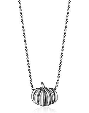 """Little Seasons"" Pumpkin Pendant Necklace, 16″"