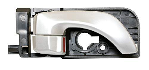 (XT Compatible with Hyundai Sonata Interior Handle 836203K020 83620-3K020 Passenger Side Rear Right 2005-2010 Silver)