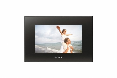 Sony DPF-D82 8-Inch LCD WVGA 15:9 Diagonal Digital Photo Frame (Black) ()