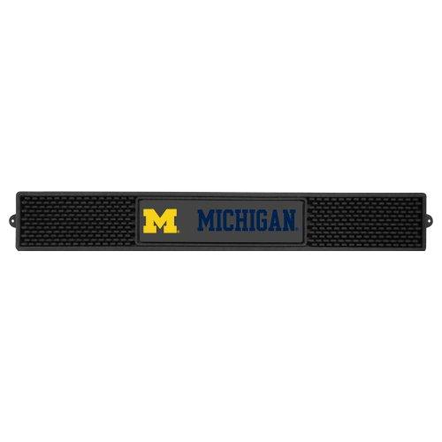 Fanmats NCAA University Michigan Wolverines Vinyl Drink Mat by Fanmats