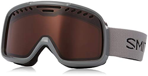Optics Goggles Snowboard - Smith Optics Project Adult Snow Goggles - Charcoal / Rc36 / One Size