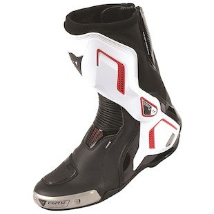 Dainese Torque D1 Out Air Boots Black/White/Lava-Red Size 45