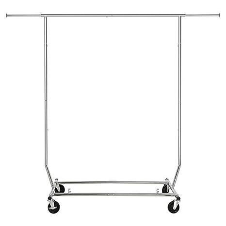 Amazon.com: HLC plegable ropa rack Grado Comercial: Home ...