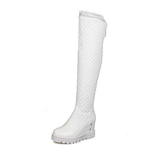 AdeeSu Womens Casual Platform Urethane Boots SXC02110 SXC02110 SXC02110 B077YD3WMH Shoes 4024f6