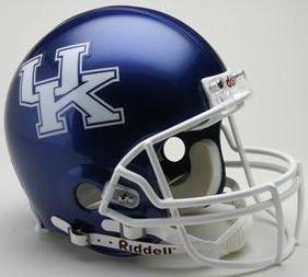 Kentucky Wildcats Football Helmet - Licensed NCAA Memorabilia - Kentucky Wildcats Collectibles