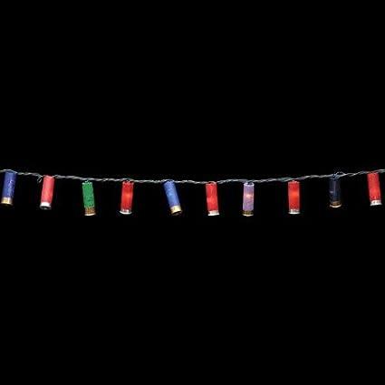 Amazon.com: Shotgun Shell Christmas Lights (50 Light Strand): Home ...