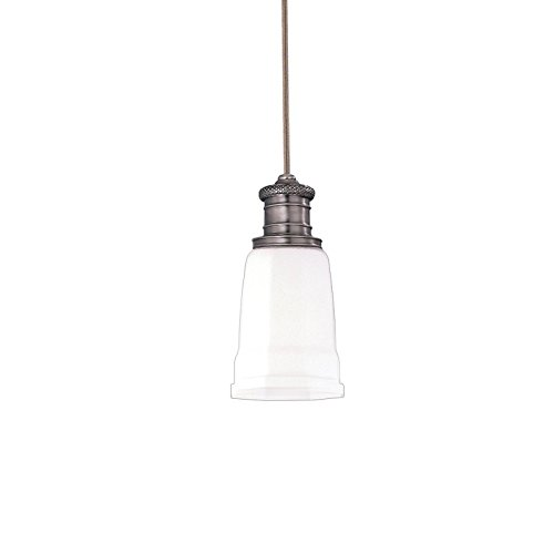 Hudson Valley Lighting 2521-AN One Light Pendant from The Bradford Collection Antique Nickel