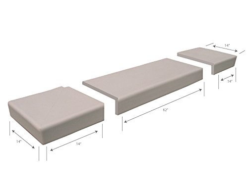 KidKusion taupe Soft Seat Hearth Pad, Taupe by KidKusion (Image #2)