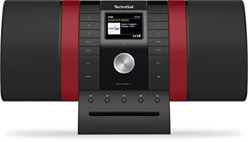 TechniSat MULTYRADIO 4.0 – Internetradio, WLAN, DAB+, FM, Alexa-spraakbesturing, Spotify, bluetooth, cd-speler, USB…