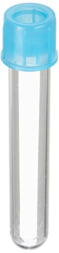 BD 352235 Falcon Polystyrene Round Bottom Centrifuge Test Tube with Cell Strainer Cap, 12mm Diameter x 75mm Length, 5mL Capacity, 1400 RCF (Case of 500)