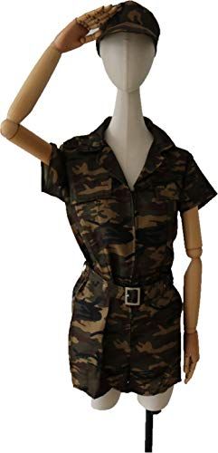 M and H Hong Kong M&H Adult Child Men and Women Army Costumes