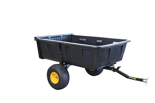 Polar Trailer 10535 HD Max Single Axle Trailer, One Size, Black
