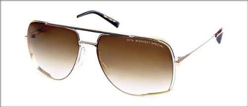 dfb46f737a5 Image Unavailable. Image not available for. Colour  Dita Midnight Special  Sunglasses 12K Gold ...