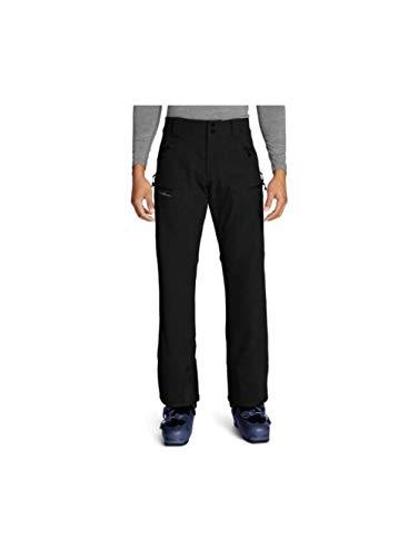 Eddie Bauer Men's Guide Pro Ski Tour Pants, Black Regular M