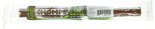 Chomps Snack Sticks 100% Grass Fed Beef Whole30 Hoppin Jalapeno Pack of 24