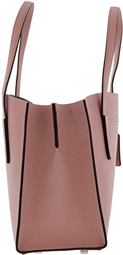 COACH Women's Polished Pebble Leather Charlie Carryall Sv/Peony One Size