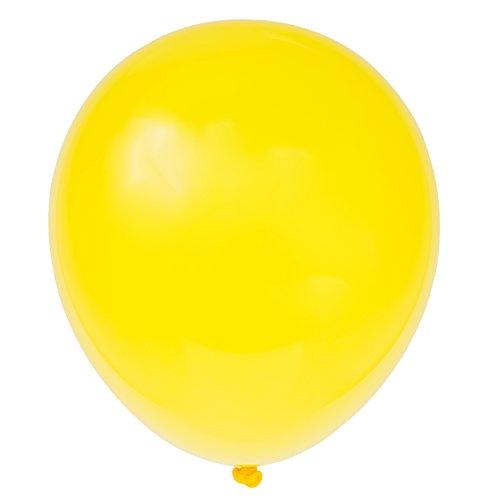 Latex Sunburst Yellow Balloons 72ct