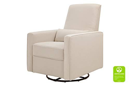 DaVinci Piper All-Purpose Upholstered Recliner and Swivel Glider, Cream (Best Pottery Barn Glider)