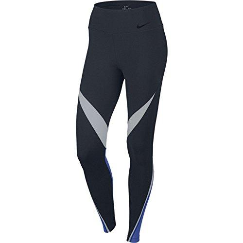 Nike Legendary Twist Leggings Black Blue 724963 451 (xs)