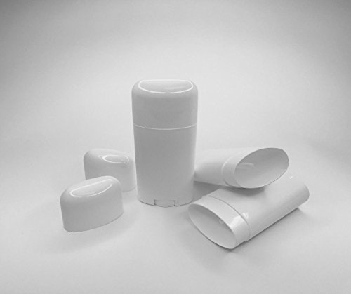 Almost4Minds Deodorant Containers Empty 5 Pack- Make Your Own Deoderant, Heel Balm 2.12Oz /60g/60ml