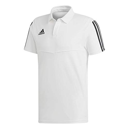 Shirt black Homme White Polo Tiro19 Co Adidas wq4pSS