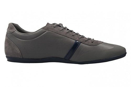 Lacoste - Zapatos de cordones de Piel Lisa para hombre gris gris