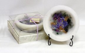 1 X Habersham Wax Pottery Vessel - Lilac Blossom by for sale  Delivered anywhere in Canada