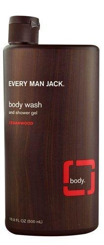 Every Man Jack Body Wash and Shower Gel Cedarwood, 16.9 Ounc