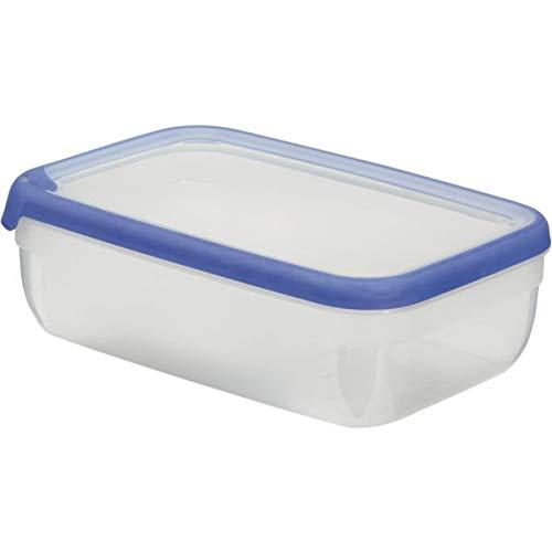 2,6L CURVER 00009-082-00 Rechteckige Frischhaltedose New Grand Chef transparent//blau