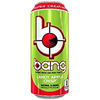Bang Energy Drink with CoQ10 Creatine Candy Apple Crisp (12 Drinks)