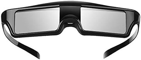 Elikliv 3D 안경 액티브 충전식 블루 투스 3D 셔터 안경 엡손 프로젝터 및  파나소닉 삼성 3D TV와 호환 가능 / Elikliv 3D 안경 액티브 충전식 블루 투스 3D 셔터 안경 엡손 프로젝터 및  파나소닉 삼성 3D TV와 호환 가능