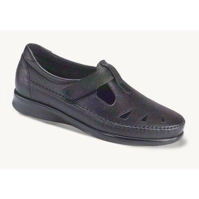 SAS Women's Roamer Slip-on Shoes,Black 8W