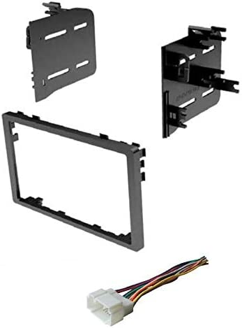 Car Stereo Dash Install Mount Kit and Wire Harness for Installing an Aftermarket Double Din Radio for Select 1998-2006 Honda Vehicles See Compatible Vehicles and Years Listed Below