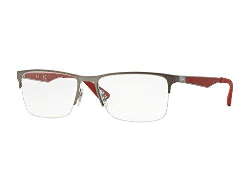 Eyeglasses Ray-Ban Vista RX 6335 2620 MATTE - Ban Rimless Semi Ray