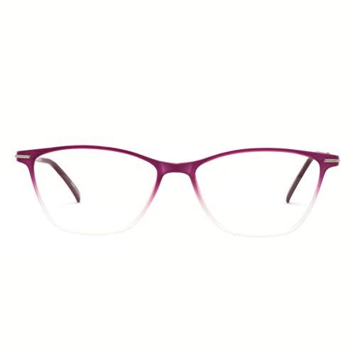 0dc47fe2124b OCCI CHIARI Fashion Womnen Thin TR93 Rectangular Eyewear Frames with Clear  Lenses