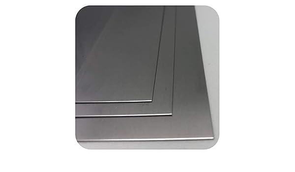 Chapa de acero inoxidable 3 mm Nirosta V2 A 1.4301, 3mm x ...