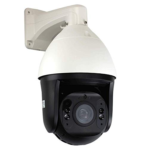 GW Security H.265 5MP HD 2592 x 1920p IP High Speed Onvif Network Dome PTZ Camera 15X Optical Zoom Waterproof Outdoor/Indoor