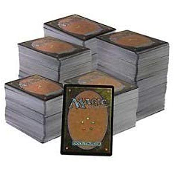 Magic The Gathering Lote de Cartas 500 comunes,100 infrecuentes y ...