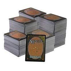 comprar Magic The Gathering Lote de Cartas 500 comunes,100 infrecuentes y 5 Raras (en Castellano)