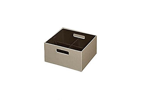 Rubbermaid Bento Storage Box with Flex Dividers (Cube, Kh...