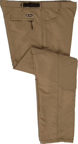Jean Cut Under-Wader Pant - Fleece-Lined Khaki Size Small