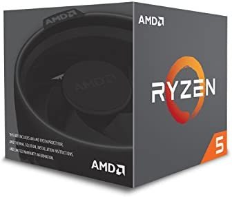 Amazon Com Amd Ryzen 5 2600x Processor With Wraith Spire Cooler Yd260xbcafbox Computers Accessories